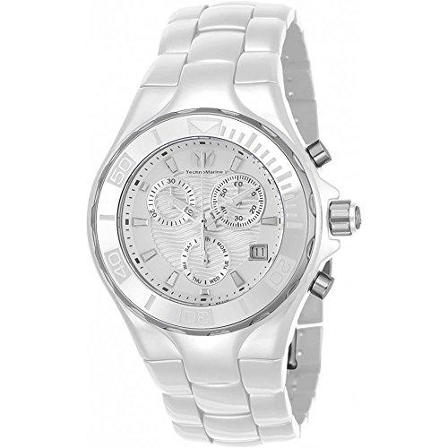 technomarine-cruise-femme-40mm-bracelet-boitier-ceramique-blanc-quartz-cadran-argent-montre-tm-11531
