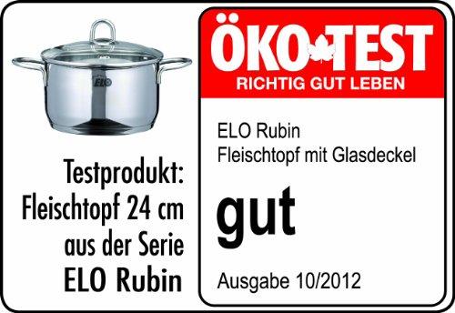 ELO Kochtopfset Rubin 5-teilig Edelstahl - 2