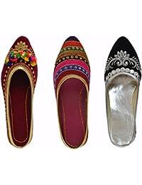 RYAG Slip On Bellies | Heels | Block Heels | Low Heels Elegant | Comfortable | Casual Light- Weight Footwear for Women & Girls