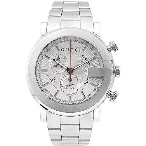 Gucci 101 Series Reloj de hombre cuarzo 43mm correa de acero YA101339