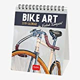Vélo Art 2019Calendrier de bureau–12x 14.5cm