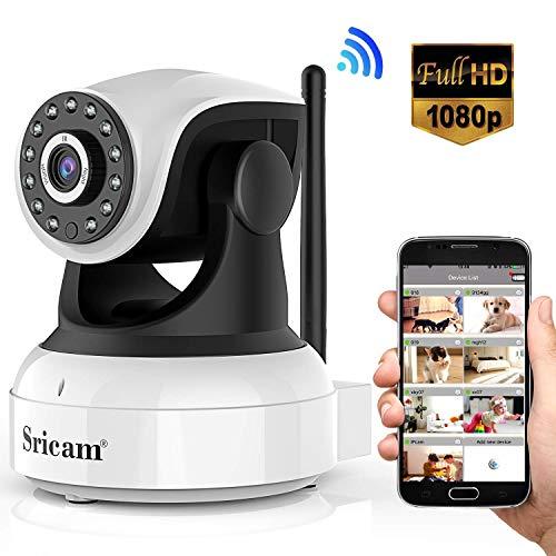 Sricam Cámara IP 1080P,...