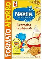 NESTLÉ Papilla 8 cereales con Galleta María - Alimento ...