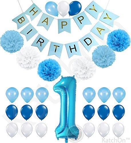 13 OFF On Katchon 1st Birthday Boy Decorations Kit