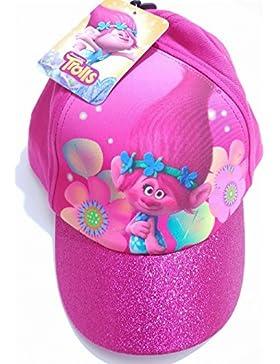 Poppy - Sombrero - para niña Rosa multicolor Talla única