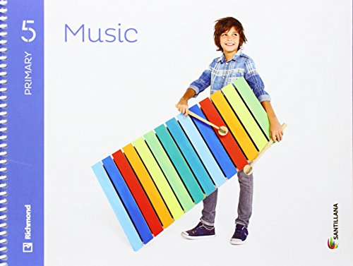 MUSIC 5 PRIMARY STUDENT'S BOOK + CD - 9788468086989 por Aa.Vv.
