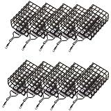 10 STK mit Wirbel Gebogen Abstandshalter Durchlauf-R/öhrchen zum Feedern Zite Fishing Anti-Tangle Boom Sleeves Set