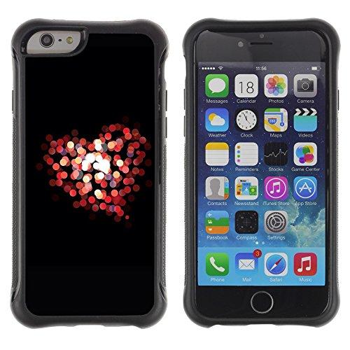 Graphic4You Beautiful Love Design Shockproof Anti-Rutsch Weichen Hülle Case Tasche Schutzhülle für Apple iPhone 6 / 6S Design #13