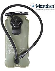 Blusmart 3L d'eau poche Système hydratation Eau Sac Réservoir Sac d'hydratation pour Camping Randonnée Voyager Sport Extérieure Course à pied Escalade Faire du vélo (BPA Free et FDA Certification)