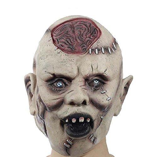 Scary Masken Ghost Maske Kostüm Party Cosplay Halloween Terrorist Masken Latex