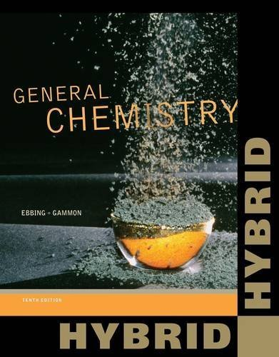 General Chemistry, Hybrid (with OWL 24-Months Printed Access Card) (Cengage Learning 's New Hybrid Editions!) by Ebbing, Darrell Published by Cengage Learning 10th (tenth) edition (2012) Paperback