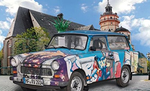 Preisvergleich Produktbild Revell 02014 - Modellbausatz - Trabant 601 Universal  25 Jahre im Maßstab 1:24