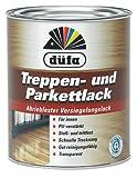 Düfa Treppen und Parkett Lack Transparent 2in1 Seidenmatt 750 ml