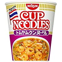 Nissin Cup Noodle Tom Yum Goong noodle 75g × 12 pieces