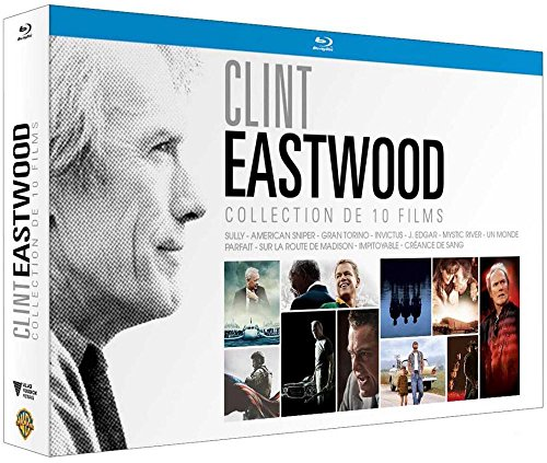 Clint Eastwood - Collection de 10 Films - Coffret Blu-Ray