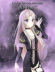 Livre de coloriage Anime 1