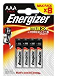 Energizer Batterie Max Alkaline AAA (Micro/LR03 8er-Packung)