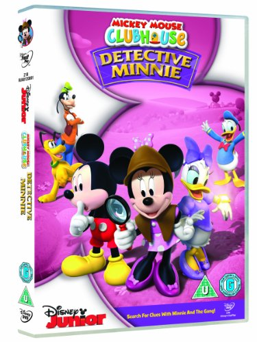 Image of Mickey Mouse Clubhouse: Detective Minnie [DVD]