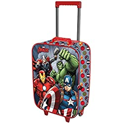 Karactermania The Avengers Force-Soft 3D Trolley-Koffer Equipaje Infantil 52 Centimeters 23 (Multicolour)