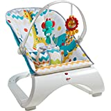 [Sponsored]Fisher Price Colourful Carnival Comfort Curve Bouncer, Multi Color