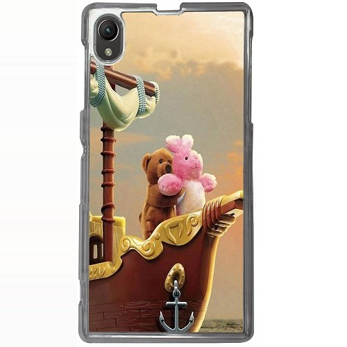 Casotec Funny Titanic Design 2D Hard Back Case Cover for Sony Xperia Z1 L39H - Clear  available at amazon for Rs.399