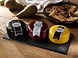Snowdonia Cheese Company Slate Cheese Board Including Black Bomber, Beechwood & Ruby Mist