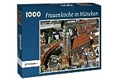 Frauenkirche in München - Puzzle 1000 Teile mit Bild von oben