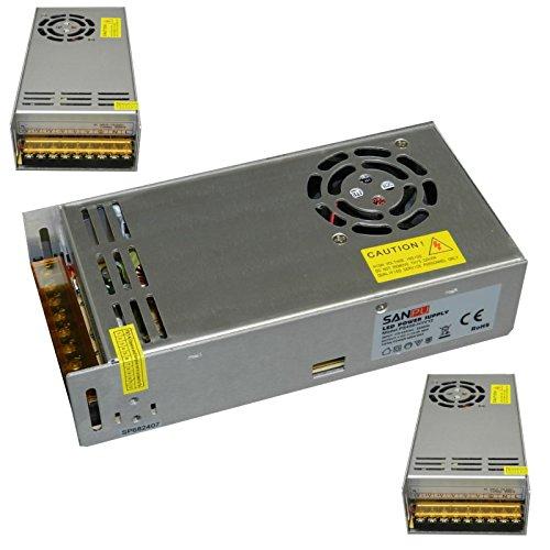 LED Netzteil 12V 400 Watt 33.3A Test