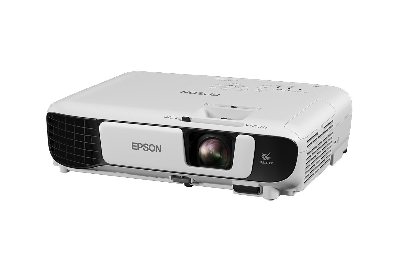 519gnieSq L - Epson EB-S41 3LCD, 3300 Lumens, 300 Inch Display, SVGA Projector - White