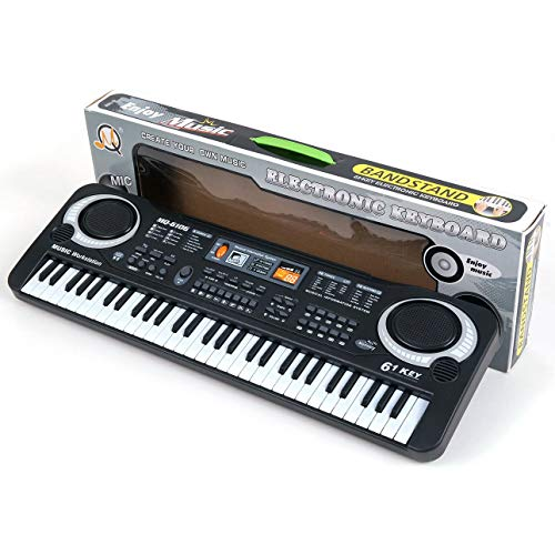 Preisvergleich Produktbild Ballylelly-elektronische Orgel,  61 Tasten Digital Music Elektronische Tastatur-Brett-Spielzeug-Geschenk Electric Piano