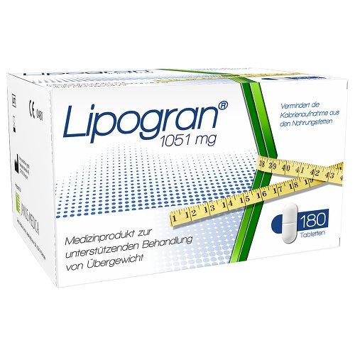 Preisvergleich Produktbild Lipogran Tabletten, 180 St