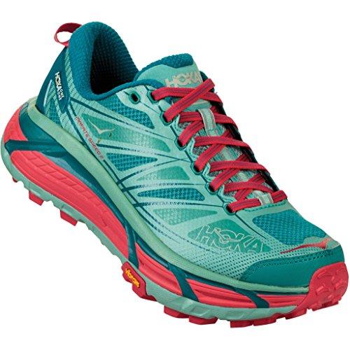Hoka One One Mafate Speed 2 Running Shoes Women Canton/Green-Blue Slate Schuhgröße US 8 | EU 40 2018 Laufsport Schuhe