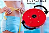 #3: WYVERN© 4 in 1 Magnetic Tummy Trimmer Acupressure Twister Useful for Figure Tone-up, Spine Fitness, Abs Trimming