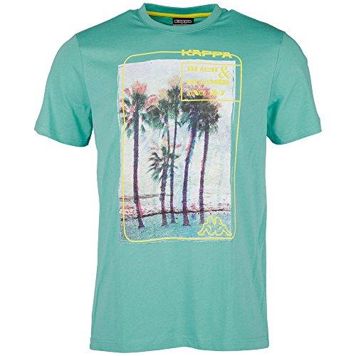 Kappa Herren T-Shirt Timon Short Sleeve Men Bright Aqua