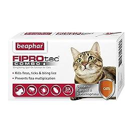 Beaphar 410.0110.001 Fiprotec Combo Gatto 3Pip, Taglia Unica