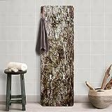 Garderobe - Top Holzoptik Garderoben, Größe HxB: 139cm x 46cm, Motiv: No.YK 17 Baumrinde