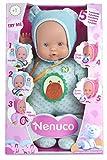 Nenuco - Muñeco, Blandito 5 funciones, color azul (Famosa 700013381)
