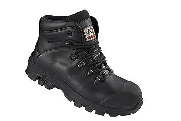 Rock Fall TC1070 Denver 8 Safety Boot - Black B00NI26736