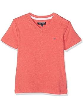 Tommy Hilfiger Original Vn Tee S/S, Camiseta para Niñas
