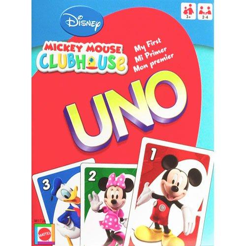 Preisvergleich Produktbild MATTEL UNO Junior Micky Mouse