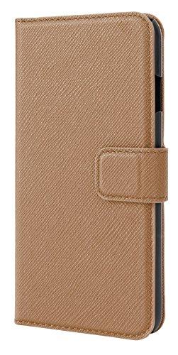 Xqisit Slim Wallet Schutzhülle für Apple iPhone 6 Plus / 6s Plus Sand