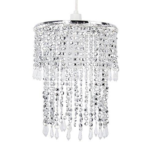 eleganter-moderner-und-glizernder-lampenschirm-fr-pendelleuchte-in-chrom-und-aus-acryl-mit-kristalle