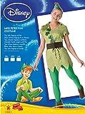 Rubies - Disfraz oficial chicas de Peter Pan para adultos, talla...