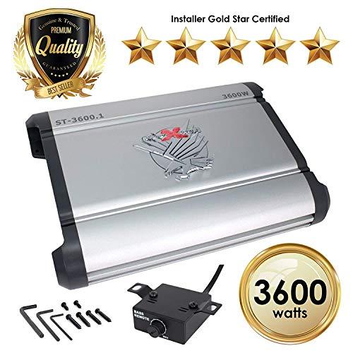 Kicker 12CX3001 (CX3001) - 1 Kanal Verstärker (Verstärker Kicker)