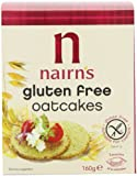 Nairns Gluten Free Oatcakes 160 g (Pack of 12)
