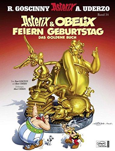 Asterix & Obelix feiern Geburtstag - Das goldene Buch