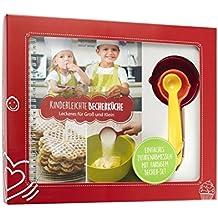 """Kinderleichte Becherküche - Leckeres für Groß und Klein: Backset inkl. 3-teiliges Messbecher-Set (Kinderleichte Becherküche / Bekannt aus """"Die Höhle der Löwen"""")"""