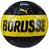 Puma Bvb Mini Fan Ball, Cyber Yellow Black, One Size