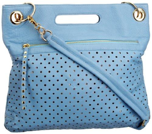 Sienna Ray & Co Makenna, Borsa a spalla donna Blu (Blau (Sky))