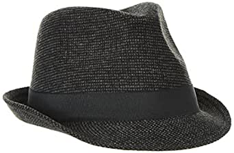 Mount Hood Men's Leicester Trilby Hat, Grey (dunkelgrau), Medium
